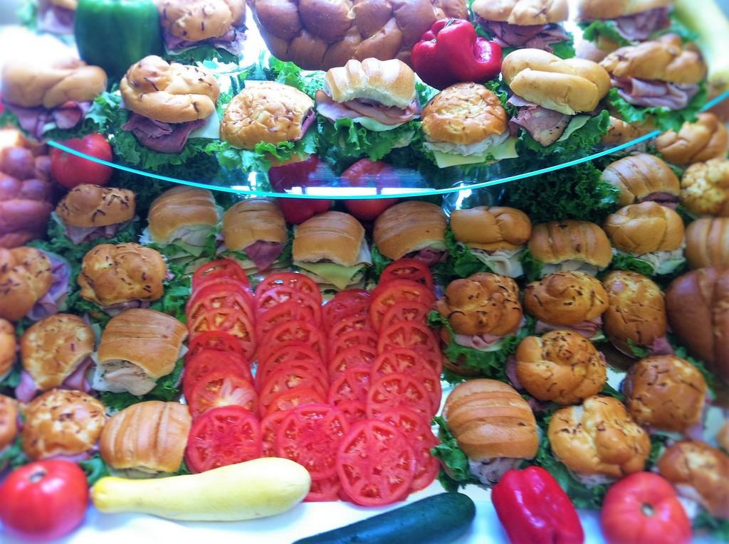 Sandwiches work Lunch