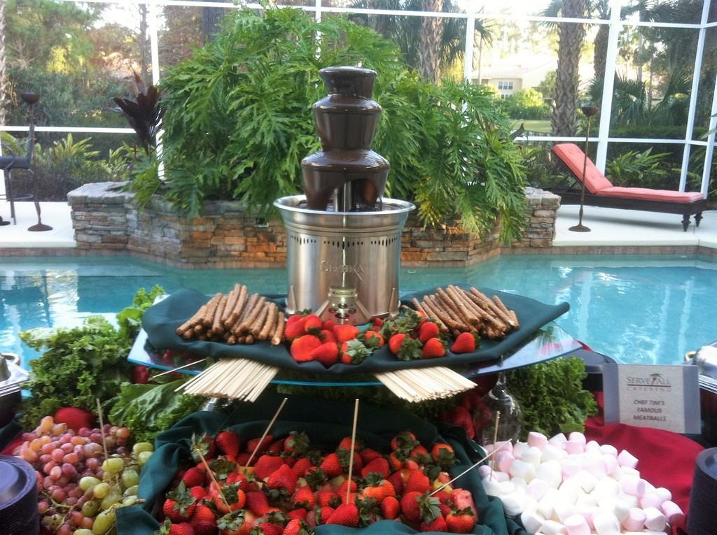 Fresh Fruit Pool Party