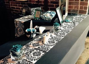 Black and Teal  wedding (33)