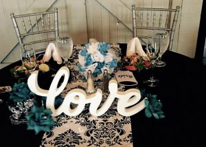 Black and Teal  wedding (37)